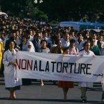 Rally of Algerian Doctors and Nurses Against Torture